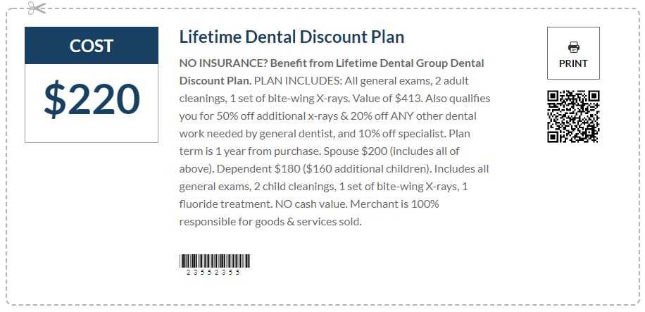 Dental Discount Plan in Michigan (Coupon for Dentist)