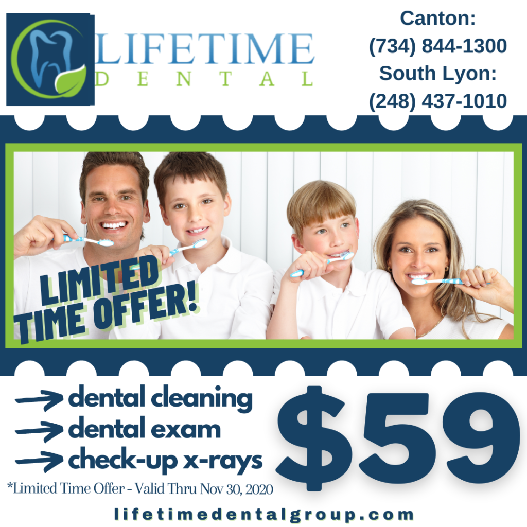 $59 Dental Cleaning with X-Rays